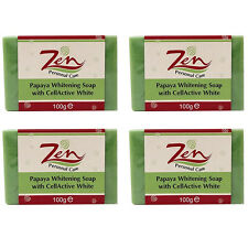 PAPAYA WHITENING SOAP CELLACTIVE WHITE BY ZEN PERSONAL CARE   PACK 4
