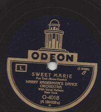 Harry radermans Dance Orchestra New york avec chant: sweet Marie