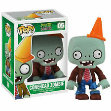 FUNKO POP PLANTS VS ZOMBIES #05 CONEHEAD ZOMBIE~RARE RETIRED VINYL~FAST POST !!!