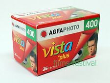 3 rolls Agfaphoto Vista Plus 400 35mm 36exp Color Print Film 135-36 Agfa