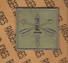 2nd Bn 7th Special Forces Group AIRBORNE SFGA OCP HCI Helmet Cover patch