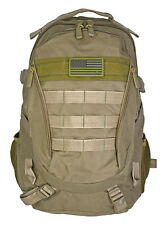 Tactical Urban Backpack Turtle Pack EastWest EDC Survival Hiking Day Pack Tan*