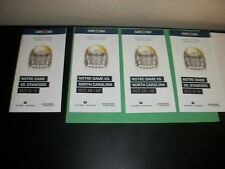 NOTRE DAME COLLECTIBLE INFORMATION WEEKEND FOOTBALL GUIDES & SCHEDULES