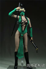 "1/6 Scale Customize Clothing For 12"" Phicen Female Large Bust Figure Kunoichi"