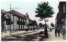Walsall Library Lichfield Street unused RP old postcard WHS Park Series Good
