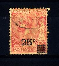 MONACO - 1922 - Francobolli del 1891/1921 soprastampati con nuovo valore