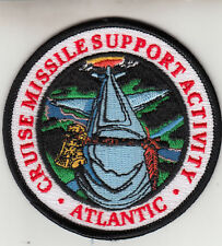 CRUISE MISSILE SUPPORT ACTIVITY ATLANTIC  PATCH
