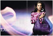 PUBLICITE  ADVERTISING   2008   DIOR   haute couture (2 pages)