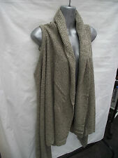 BNWT Womens Sz 14-18 Undercoverwear Mocha/Cream Soft Knit Long Line Vest RRP $79