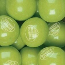 Dubble Bubble GREEN APPLE Gumballs 1lb Approximately 55 Gum Balls Per Pound