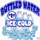 Ice Cold Bottled Water $1.00 Drinks  Concession Beverage Food Truck Decal 14