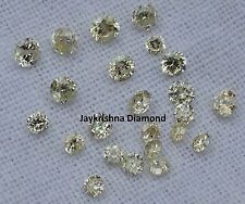 Free Shipping 1 ct 1.5-2.0 MM Rare Natural Round Fancy L.C Natural Loose Diamond