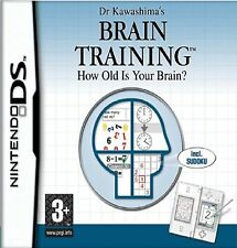 Dr Doctor Kawashimas Brain Training How Old Is Your Brain Nintendo DS NDS Game