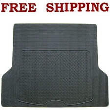 SEMI CUSTOM GRAY RUBBER REAR CARGO TRUNK MATS FIT CHEVROLET TAHOE 95-2012