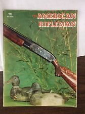 The American Rifleman Magazine April 1968 Model 12 Winchester 12 Gauge Ribbed