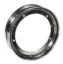 Quality Chrome 3.00 x 10 inch Wheel Rim fits  VESPA PK 50 80 100 125  ALL MODELS