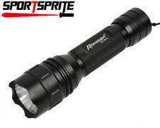 Tactical RoMiSen RC-B12 CREE Q5-UV 2 Mode 800LM Hunting Flashlight Torch Light B