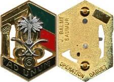 LEGION ETRANGERE, 6° R.E.Génie, AD UNUM, Opération DAGUET, palmier, Balme (9227)