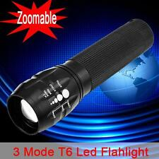 New Zoomable 1200LM CREE XM-L Q5 Power LED Flashlight Zoom Focus Torch Light JB