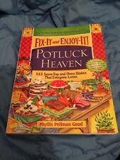 JKY- Fix-It and Enjoy-It Potluck Heaven: 543 Stove-Top and Oven Dishes cookbook
