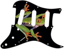Stratocaster Strat Pickguard Fender SSS 11 Hole Guitar Pick Guard Tree Frog