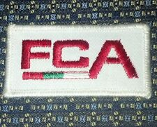 FCA SOCCER Fußball-Club Augsburg  Iron or Sew-On Patch