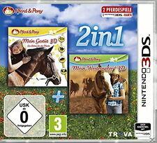 Pferd & Pony 2in1: Mein Gestüt  / Mein Westernpferd - Nintendo 3DS - Neu / OVP