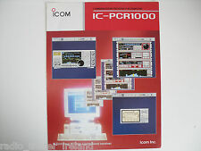 ICOM-PCR1000 (GENUINE BROCHURE ONLY)..........RADIO_TRADER_IRELAND.