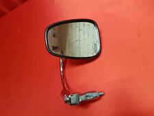 LARGE CAFE RACER OVAL BAR END MIRROR IN CHROME