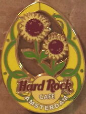 Hard Rock Cafe AMSTERDAM 2004 EASTER EGG PIN Stained Glass Flower HRC 22519