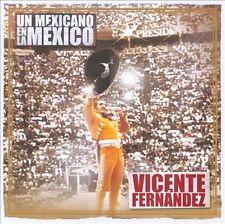 CD + DVD Un Mexicano En La Mexico Vicente Fernandez