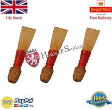 Bombard Chanter Spanish Cane Reeds/Bombard Pipe Chanter Reeds 3 Pcs/Oboe Talabar