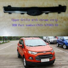 1Pcs OEM Front Bumper Upper Grille w/Chrome Stripe For Ford EcoSport 2013-2015