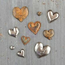 Prima Marketing Inc: Mechanicals: Mechanicals: Tin Hearts 10pc.