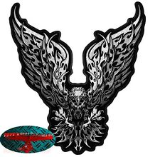 TRIBAL EAGLE MOTOCHROME Biker Patch groß Aufnäher Aufbügler Backpatch Harley USA