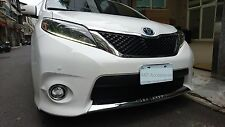 MIT TOYOTA SIENNA 2011-2016 front lower grill cover chrome garnish trim-SE model