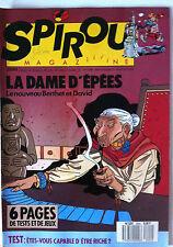 a)SPIROU N°2644; Young Soo/ La Dame d'épées