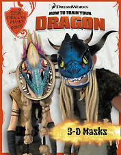 How to Train Your Dragon - 3D Masks Book, VARIOUS, New Book