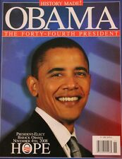 President-Elect Barack Obama Hope Commemorative Magazine 11/4/2008: Never Read
