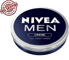 NIVEA MEN CREME CREAM FOR FACE BODY HANDS PREVENTING DRYING OUT IN TIN 75ml