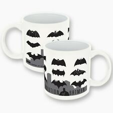 7396 Batman Evolution Through The Years Logo Mug 14oz Coffee Tea Cup