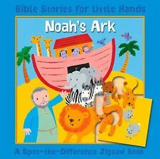 Bible Stories for Little Hands: Noah's Ark : A Spot-the-Difference Jigsaw...