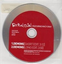 (BQ351) Fat Boy Slim ft Macy Gray, Demons - 2000 DJ CD