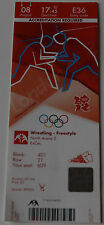 old TICKET Olympic games 2012 London Wrestling Winners  Obara - Icho Japan