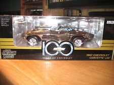ERTL - 1967 CHEVROLET CORVETTE L88 IN CHROME