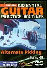 LICK LIBRARY ESSENTIAL GUITAR ALTERNATE PICKING Learn to Play Rock GUITAR DVD