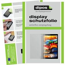 3x Lenovo Yoga Tablet 3 (8 Zoll) Schutzfolie Display Folie matt dipos