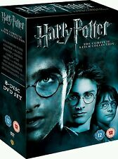 Harry Potter 1-8 Complete 8 Film Collection DVD BOX SET - New & Sealed