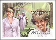 Mongolia 1997 Diana, Princess of Wales/Royal/Royalty/People 1v m/s (b1618)