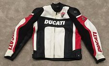 Ducati By Dainese Men's Leather Jacket Size 48 Size M